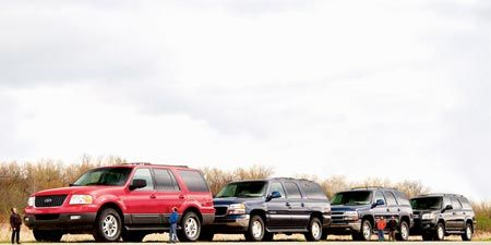 Chevy Tahoe vs  Ford Expedition, GMC Yukon, Toyota Sequoia