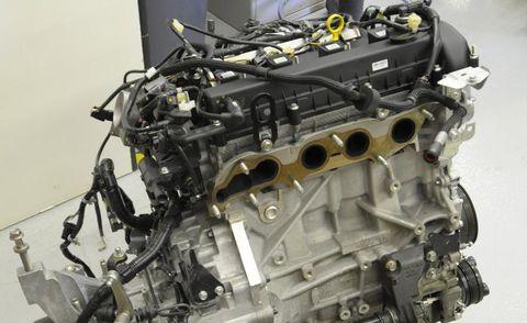 Engine, Automotive engine part, Machine, Auto part, Automotive air manifold, Automotive super charger part, Fuel line, Carburetor,