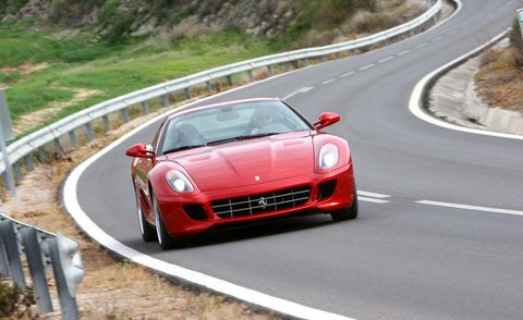 Road, Automotive design, Vehicle, Infrastructure, Performance car, Car, Red, Supercar, Road surface, Sports car,