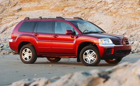 Mitsubishi Endeavor Features And Specs