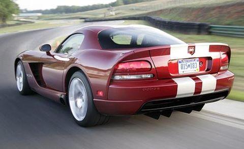 2008 dodge viper srt10 coupe