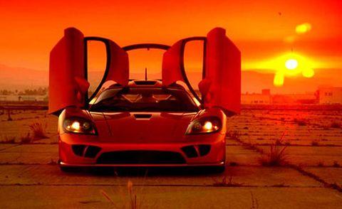 Land vehicle, Vehicle, Car, Supercar, Sports car, Saleen s7, Automotive design, Coupé, Performance car, Race car,