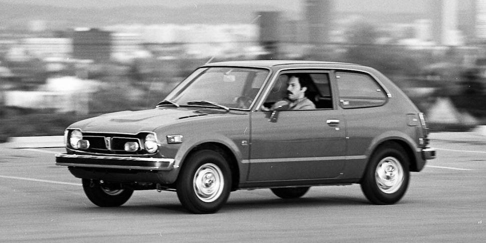 1973 Honda Civic Starts Something Big