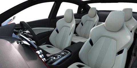 Motor vehicle, Mode of transport, Automotive design, Car seat, White, Vehicle door, Car seat cover, Head restraint, Steering part, Luxury vehicle,