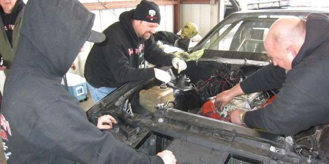 LeMons Good/Bad Idea of the Week: Engine-Swap Roulette with