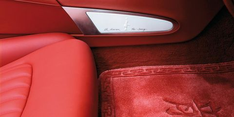 Red, Carmine, Leather, Tan, Maroon, Car seat, Vehicle door, Car seat cover, Head restraint,