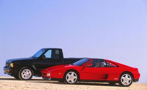 Land vehicle, Vehicle, Car, Coupé, Sports car, Supercar, Ferrari f40, Ferrari 328, Ferrari testarossa, Race car,