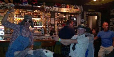 Lighting, Fun, Tavern, Pub, Drinking establishment, Shelf, Customer, Fur, Bar, Working animal,