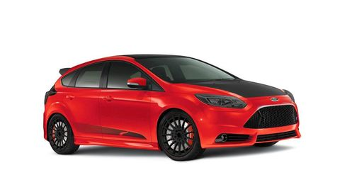 Ford Commissions Five Customized Focus Sts Most Are Yellow 2012