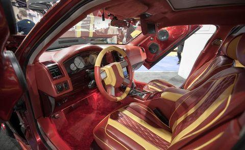 chevy camaro custom interior