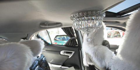 Motor vehicle, Automotive design, Car seat, Vehicle door, Luxury vehicle, Head restraint, Personal luxury car, Car seat cover, Family car, Fur,