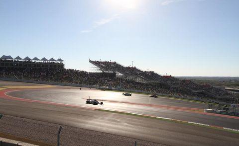 Automotive tire, Sport venue, Race track, Sports car racing, Motorsport, Asphalt, Racing, Formula one, Auto racing, Race car,