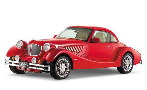 Mode of transport, Automotive design, Vehicle, Transport, Product, Land vehicle, Automotive lighting, Hood, Car, Red,
