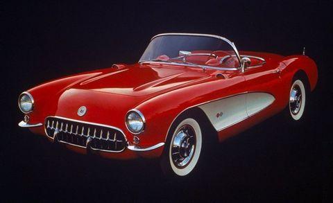 Corvette Chronology 1950s