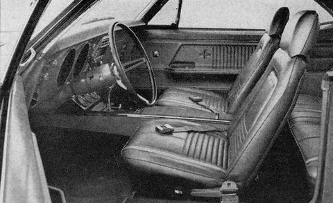 1967 Chevrolet Camaro SS 350 Archived Test –