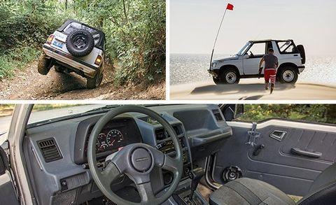The Battle of the Off-Road Beaters! Ford, Geo, Jeep, and