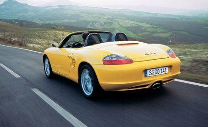 2003 Porsche Boxster Road Test 8211 Review Car