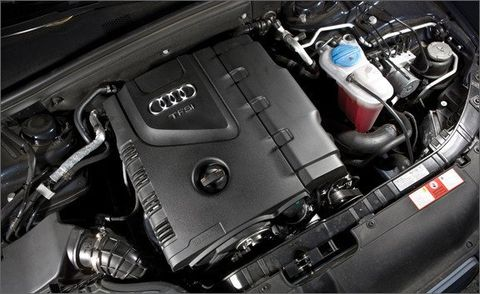 2009 Audi A4 2 0T: Audi A4 Test - Car and Driver