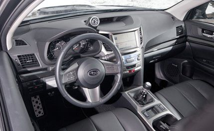 2011 subaru outback 6 speed manual review