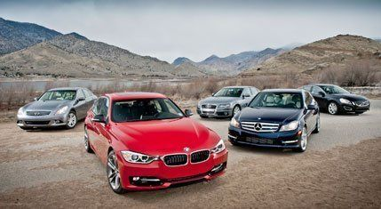 The 2012 BMW 328i Challenges Audi, Infiniti, Mercedes, and Volvo