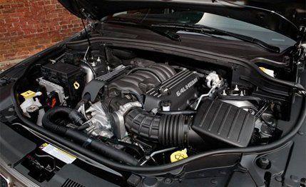 cherokee srt8 2010 engine specs
