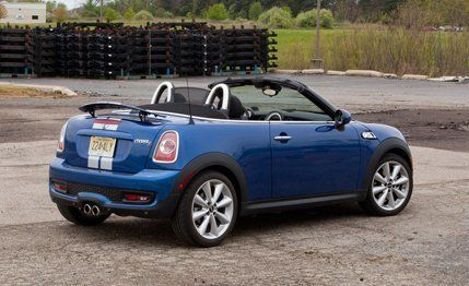 2012 Mini Cooper S Roadster Instrumented Test