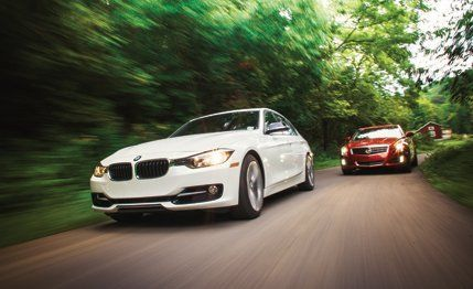2012 BMW 328i vs  2013 Cadillac ATS &#8211
