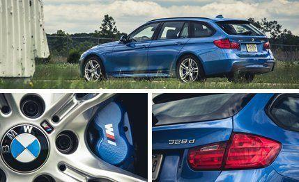 2014 BMW 328d xDrive Diesel Wagon Long-Term Wrap –