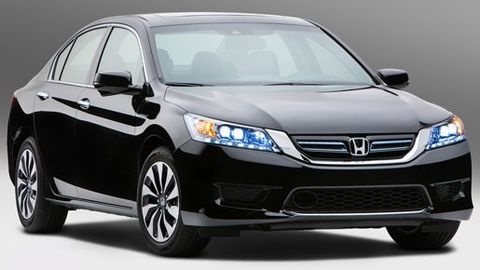 Explaining the 2013 Honda Accord's New Hybrid System