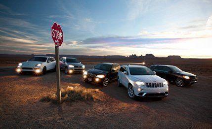 2014 Jeep Grand Cherokee Summit Ecodiesel 4x4 Vs 2013 Volkswagen