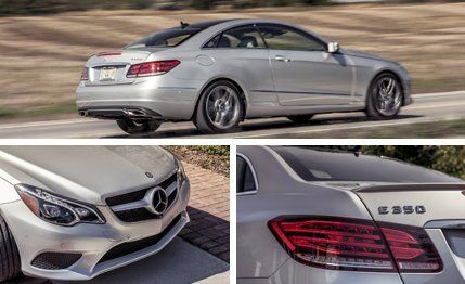 2014 Mercedes-Benz E350 4MATIC Coupe Test ¬