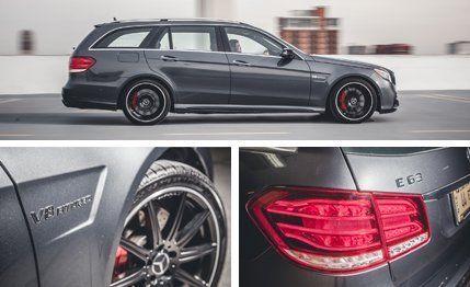 2014 Mercedes-Benz E63 AMG S-Model 4MATIC Wagon Test –