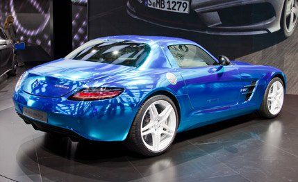 Marc Urbano The Manufacturer Although Electric Drive Sls
