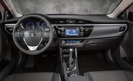 Toyota Corolla Mpg >> 2014 Toyota Corolla First Drive 8211 Review 8211 Car And Driver