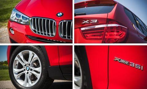 2015 BMW X3 xDrive35i Test –