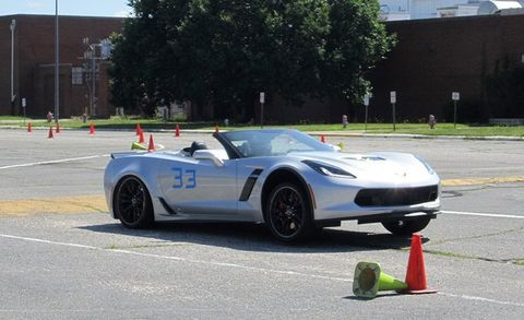 The New Chevrolet Corvette Z06 Is Amazing, But Can It Autocross