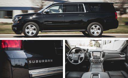 2015 Chevrolet Suburban Test –