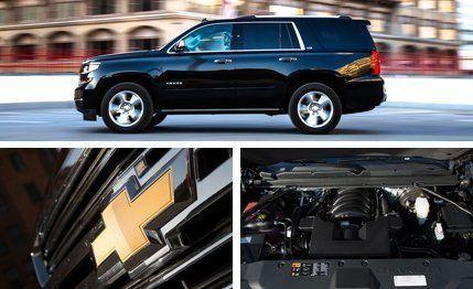 2015 Chevrolet Tahoe LTZ 4WD –