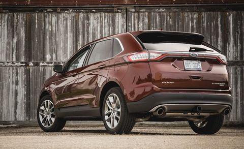 2015 Ford Edge Titanium 2 0T EcoBoost AWD Test –