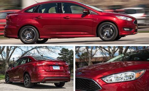 2015 ford focus se 2.0 l manual sedan