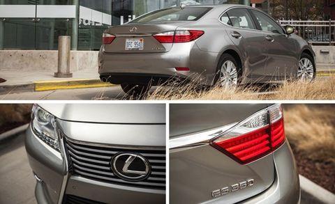 2015 Lexus ES350 Test –