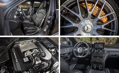 2015 BMW M3 vs  2015 Mercedes-AMG C63 S, 2016 Cadillac ATS-V