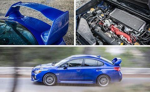 2016 Ford Focus RS vs  Subaru WRX STI, VW Golf R –