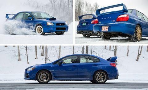 2015 Subaru WRX STI vs  2004 Subaru Impreza WRX STi –