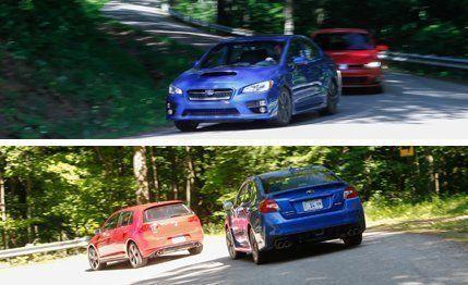 2015 Subaru WRX vs  2015 Volkswagen GTI –