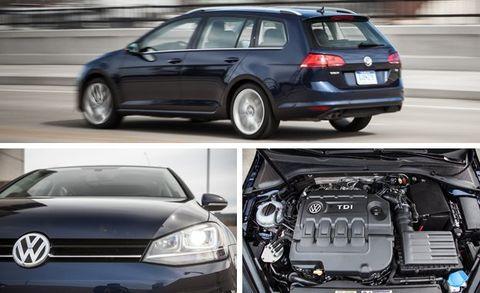 2015 VW Golf SportWagen TDI Manual Test –