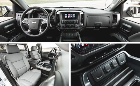 2016 Chevrolet Silverado 1500 Z71 5 3L 8-Speed Automatic