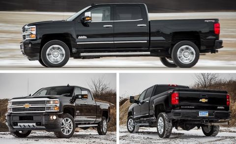 2016 Chevrolet Silverado 2500hd High Country Diesel Test 8211