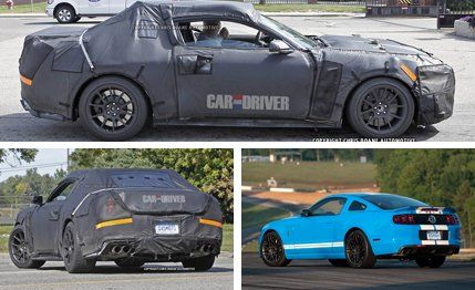 Shelby Gt500 2016 >> 2016 Ford Mustang Shelby Gt500 Spy Photos 8211 News