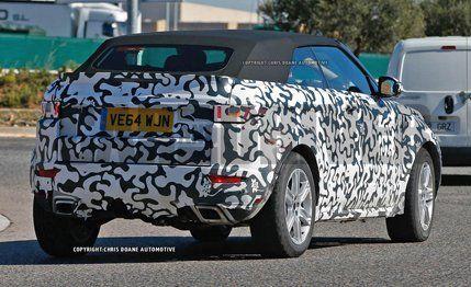 2016 Range Rover Evoque Convertible Spy Photos – News ...